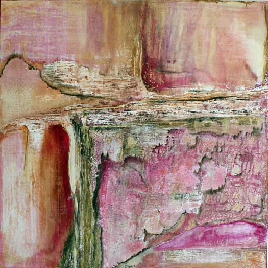 Ifigenia-abstract-acrylic-painting-pink-grunge