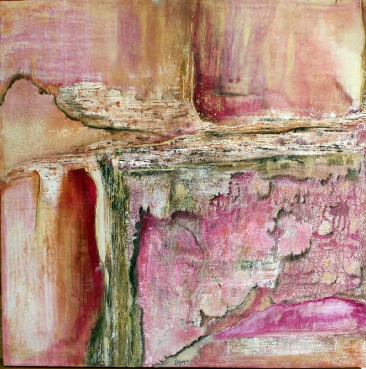 Ifigenia-abstract-acrylic-painting-pink-grunge1