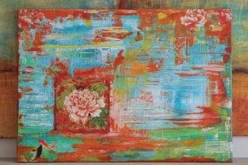 ifigenia mixed media art